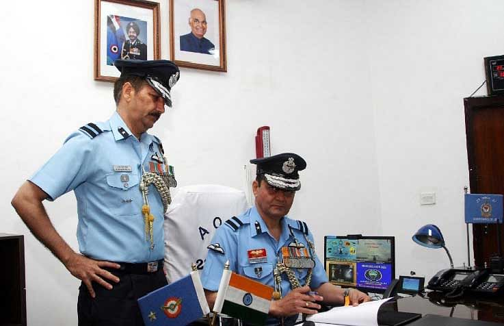 Air Commodore Pathania assumes charge of Jammu airbase