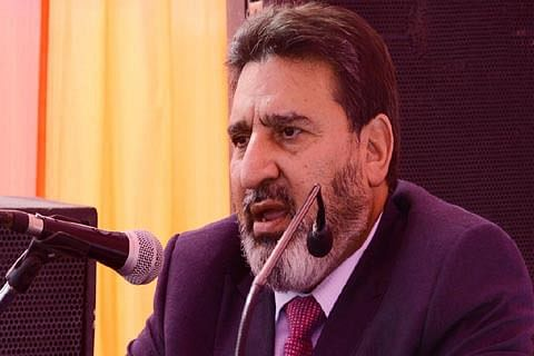 Altaf Bukhari smells 'deep-rooted' conspiracy to destroy Kashmir economy