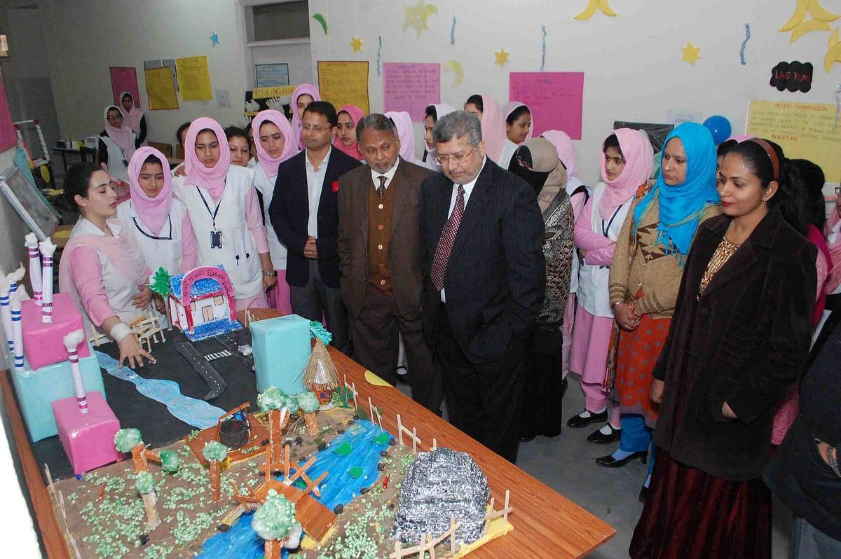 BGSB university organises health exhibition