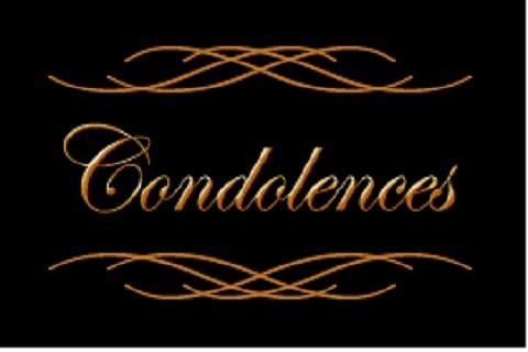 Demise condoled
