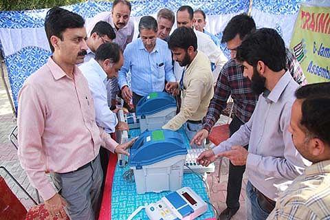 EVM, VVPAT awareness prog held at Jammu