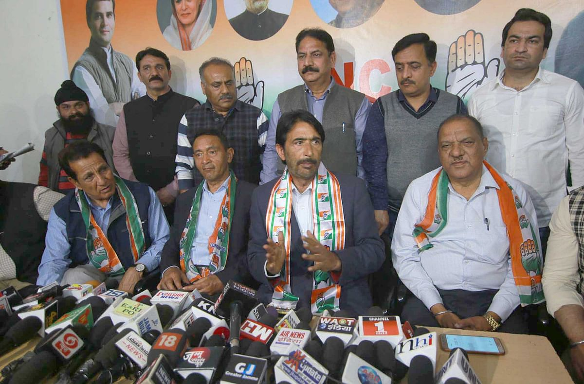 Congress rejects notification of new land laws in J&K: JKPCC chief