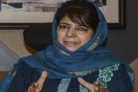 Revoking 370 will end J&K's relation with India: Mehbooba