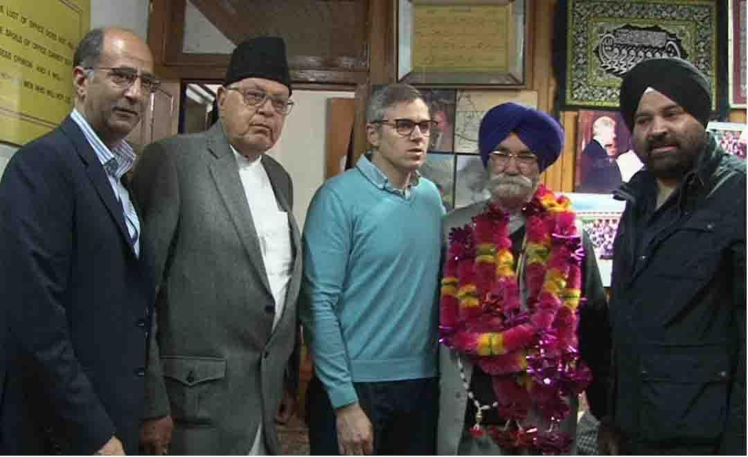 Sardar Janak Singh joins National Conference