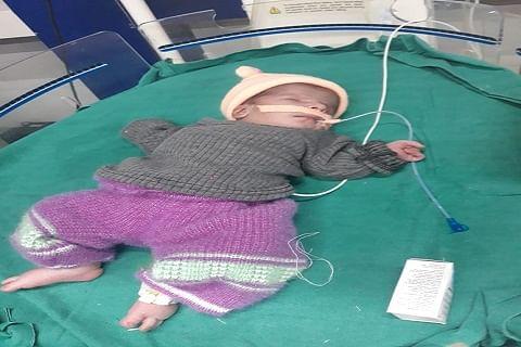 CWC takes custody of abandoned girl child