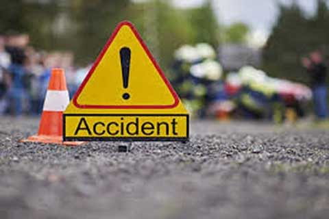 Man killed, six injured in road accidents