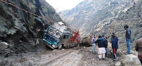 Jammu and Kashmir: Two dead after massive landslide buries truck in Doda