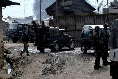 Three gunfights underway in north Kashmir; one militant killed