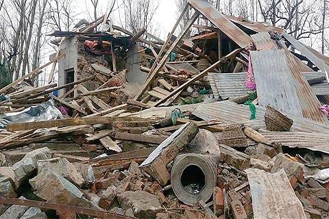 Handwara gunfight: Destruction of 8 houses leaves families devastated