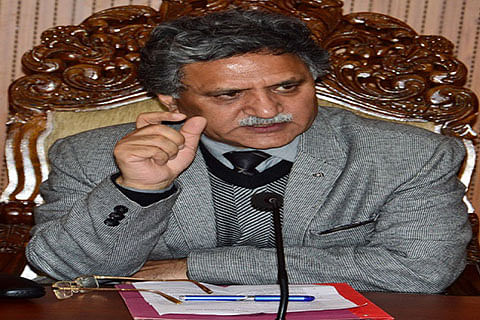 Advisor Ganai pitches for punctuality in schools, colleges