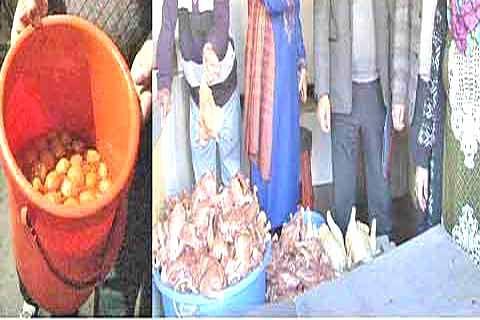 Market inspection held at Hazratbal
