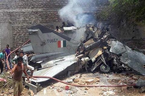 MiG 27 aircraft crashes near Jodhpur