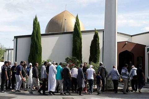 Christchurch attack mosque reopens to worshippers