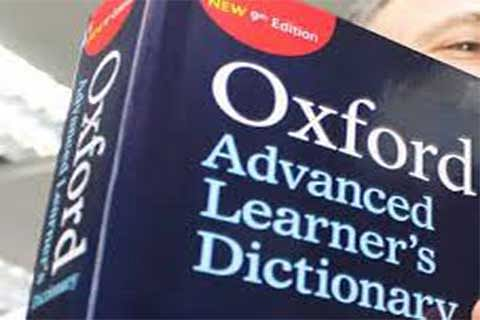 Oxford English Dictionary names 'words of the year'