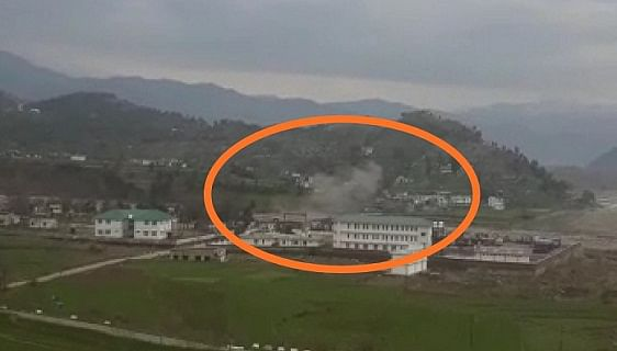 Two shells land near trade centre in Poonch, no casualty