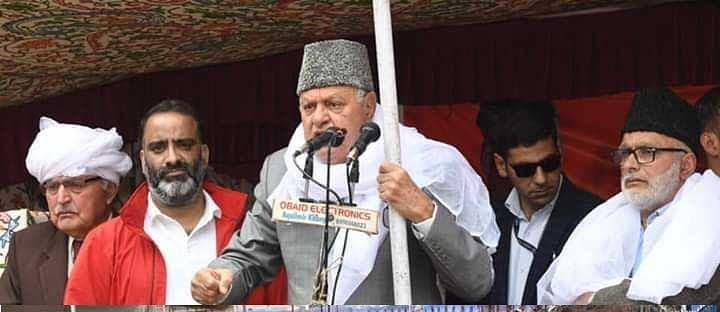 NC will work for development of Srinagar if voted to power: Farooq Abdullah