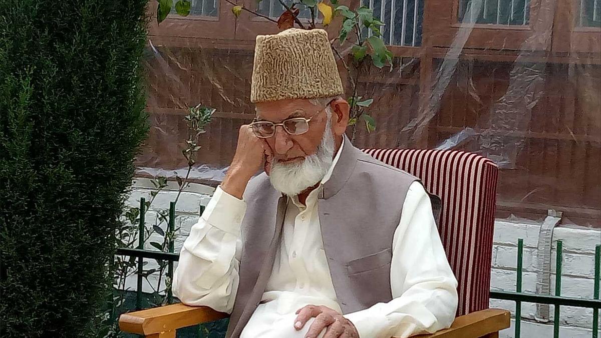 Hurriyat (G) chairman Syed Ali Geelani admitted at SKIMS after abdominal pain