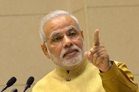 New India gives befitting reply to terror: PM Modi