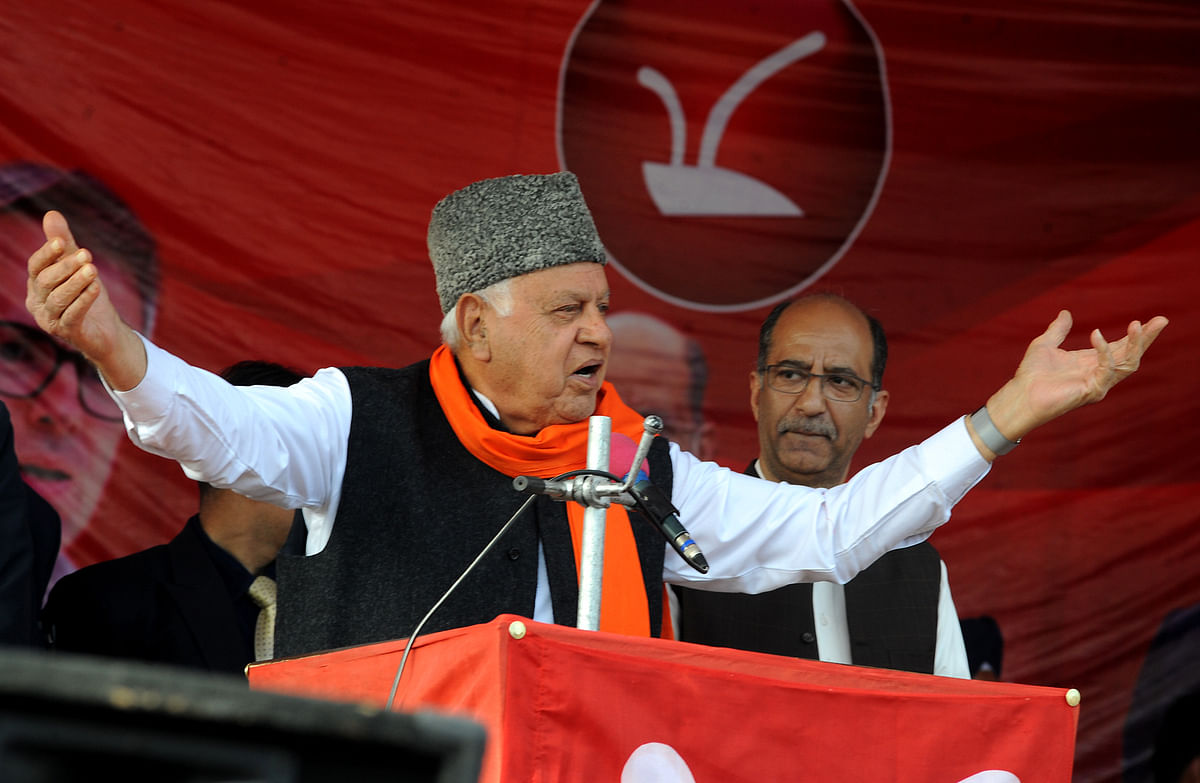 Hope Article 370 will be restored in J&K with China's support, says Farooq Abdullah