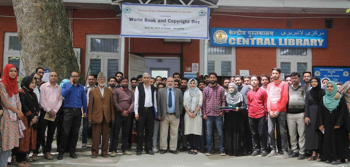 CUK celebrates world book, copyright day at Green Campus
