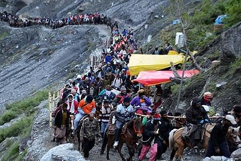 56-day Amarnath Yatra in Kashmir Himalayas to commence from June 28