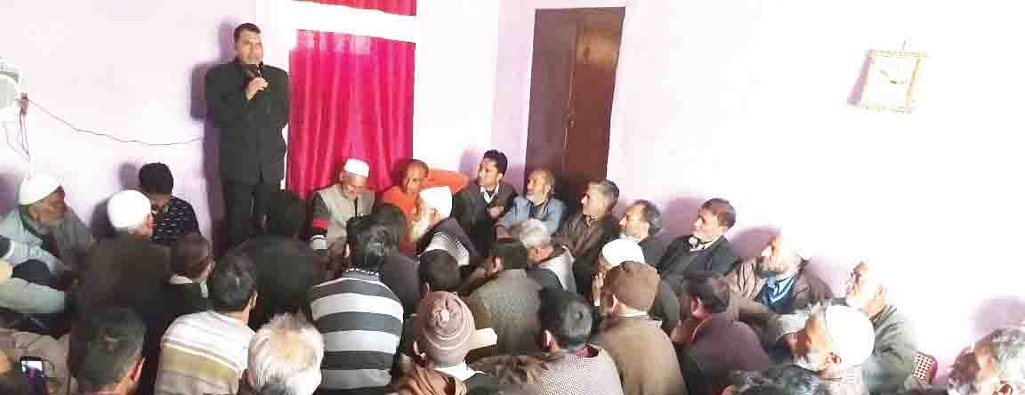 Tangmarg youth need more opportunities: Farooq Shah
