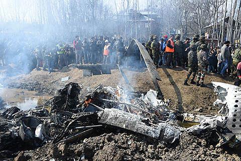 IAF probing Budgam helicopter crash: Officials