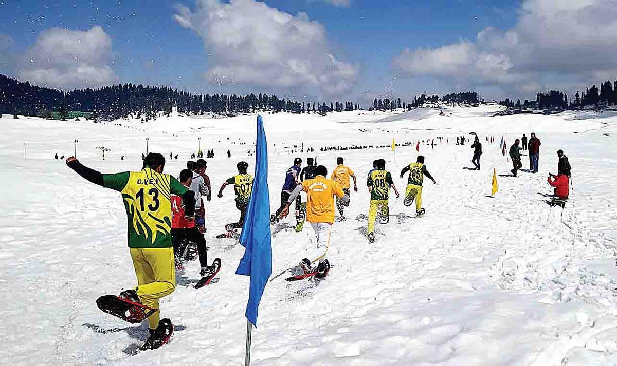 Gulmarg hosts junior snowshoe championship