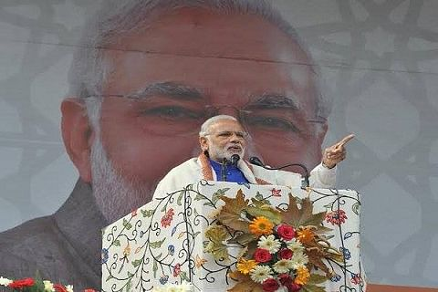 Congress surgical strikes only on paper: Modi