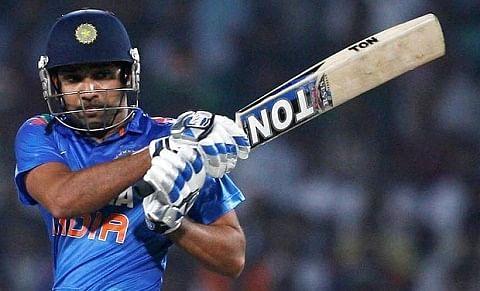 Rohit scores first overseas test century