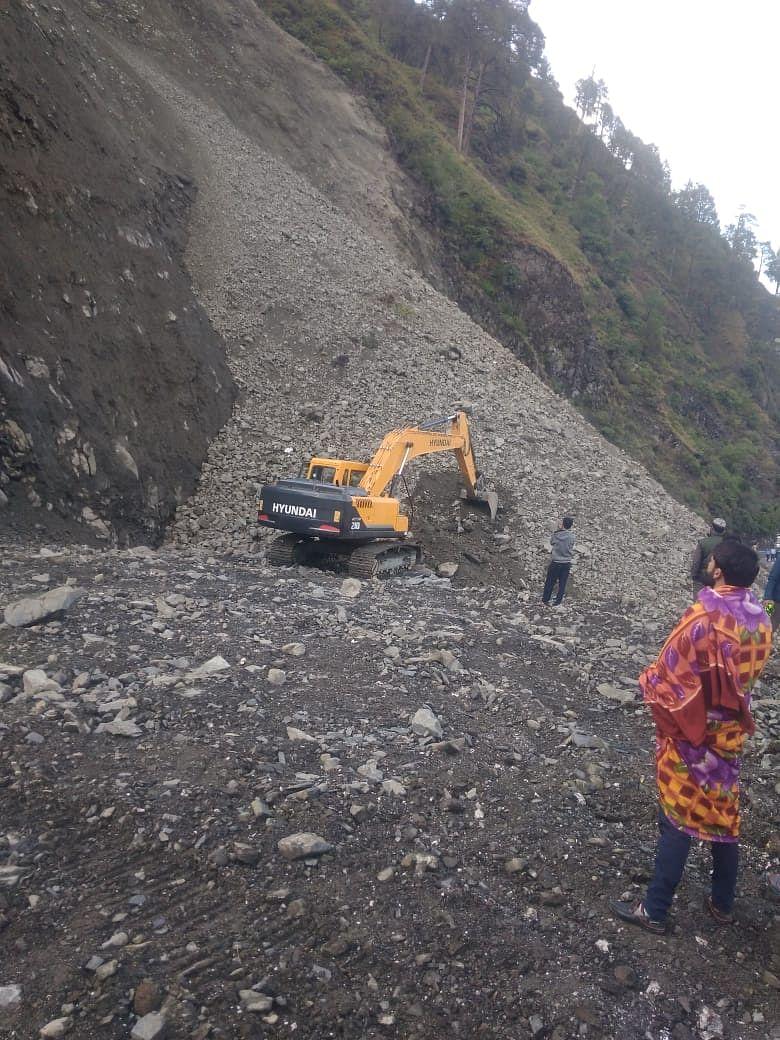 Jammu-Srinagar highway closed after rains trigger landslides
