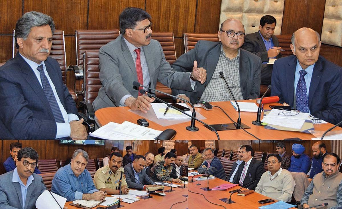 Advisors chair high-level meet, discuss Srinagar-Jammu highway, Mughal Road