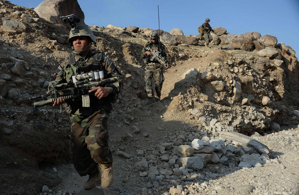 30 militants,  7 security forces killed in Afghan clash