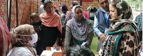 CMO Srinagar organizes medical camp