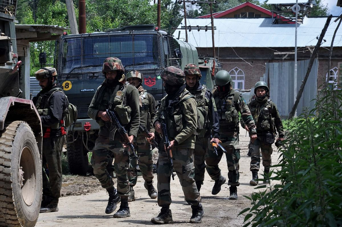 Two missing SPOs among four militants killed in Pulwama gunfight, operation over