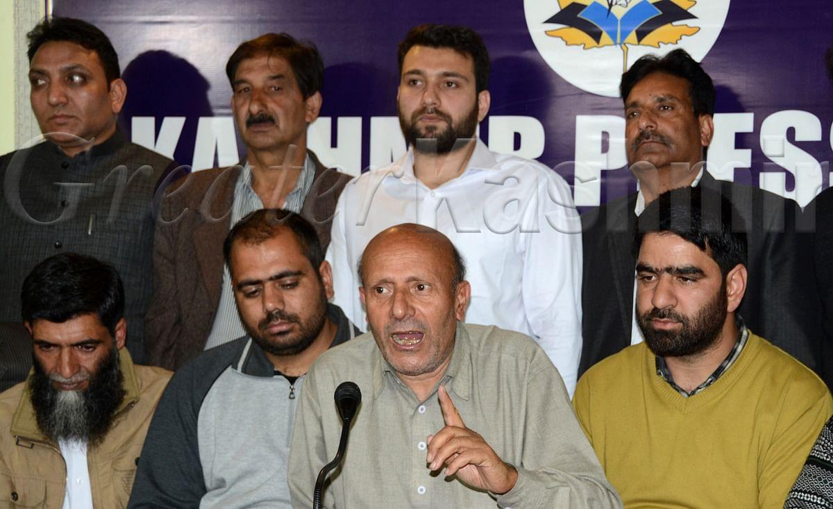 Centre would be responsible if anything bad happens to Yasin Malik: Former MLA
