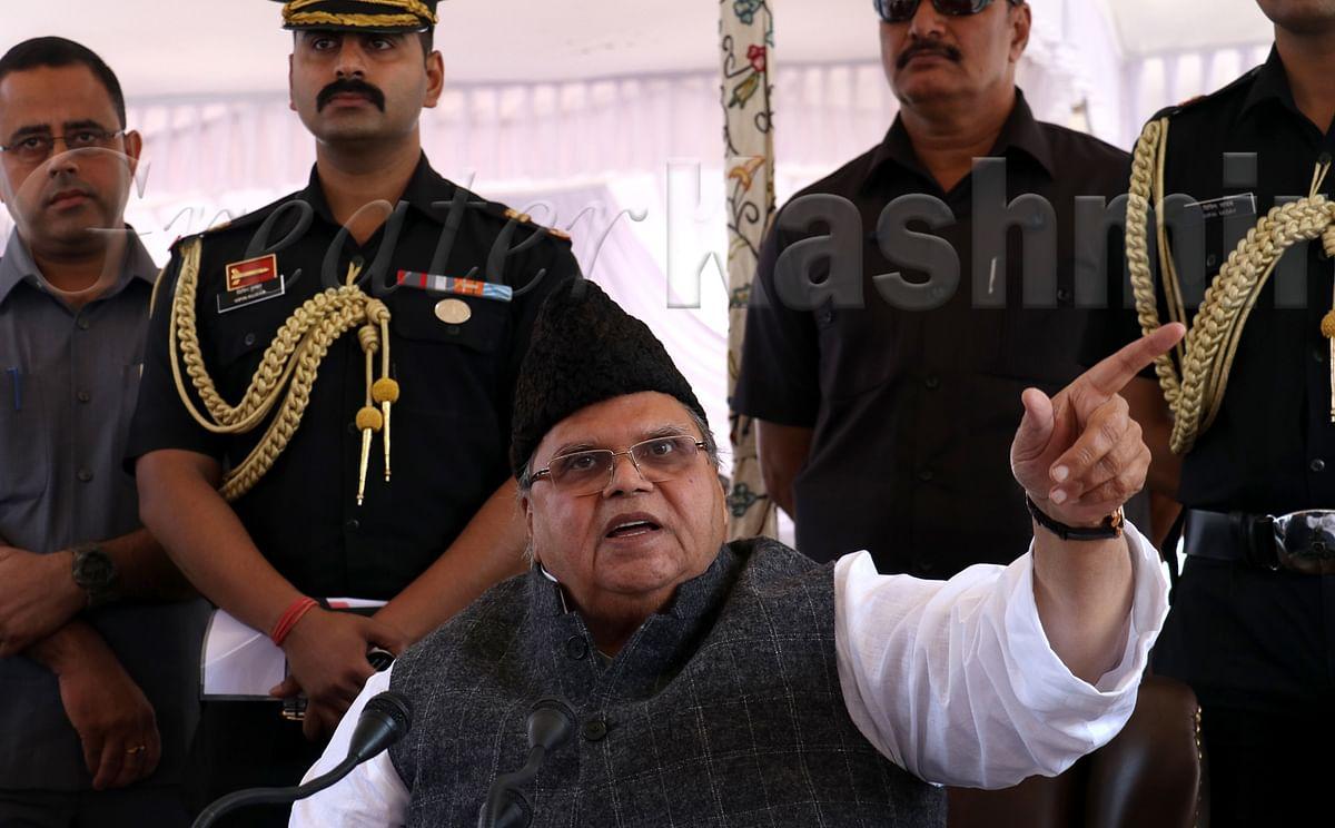 Kashmir has broken all records of corruption: Governor Malik
