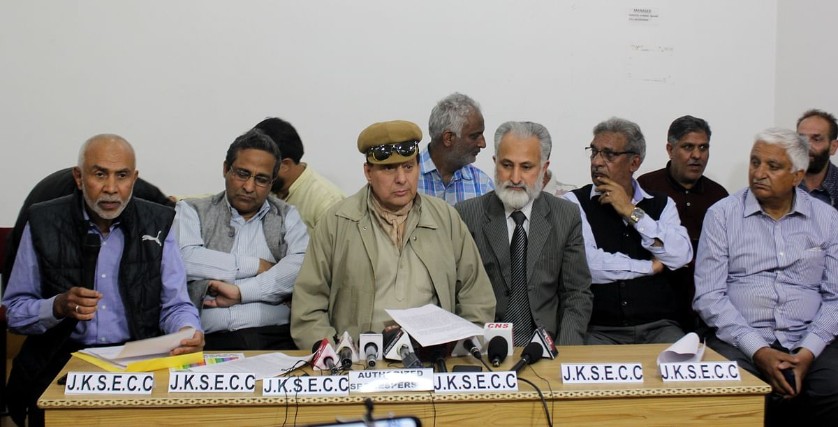 JKSECC express dismay on 'government silence'