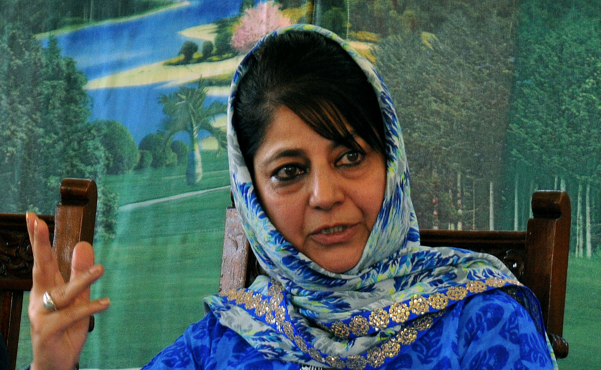 EC's silence on 'EVMs being switched' worrying: Mehbooba