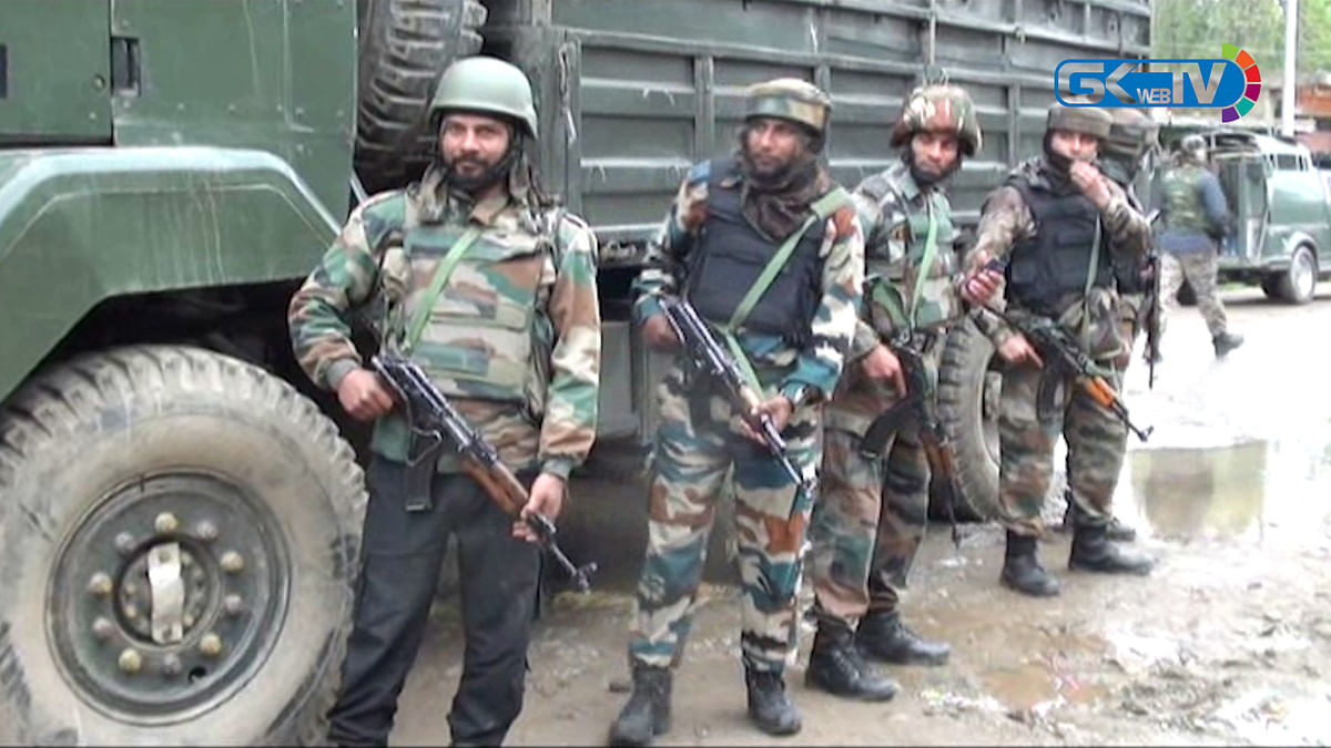 Two militants killed, soldier wounded in Shopian gunfight; operation on