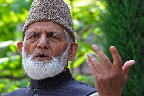 Zakir Musa killing: Geelani calls shutdown in Jammu and Kashmir on Saturday