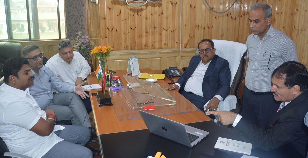 Speaker reviews progress on new legislature complex at Jammu