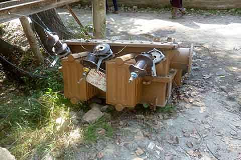 Transformer in playground poses threat to students