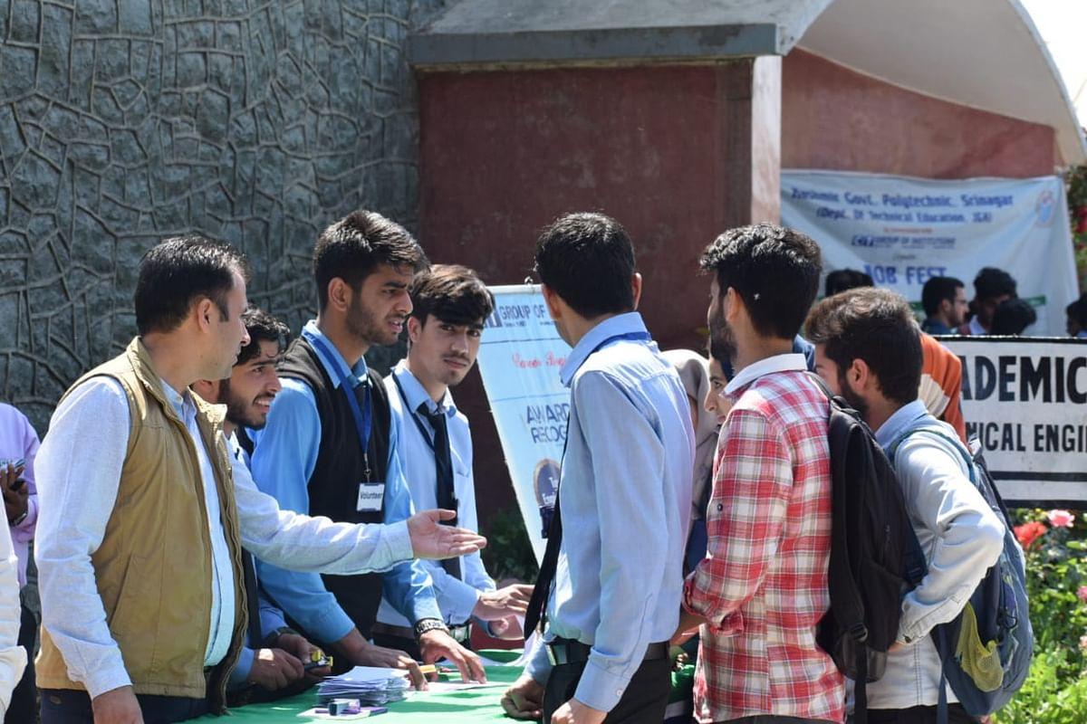 CT University organises Job Fest