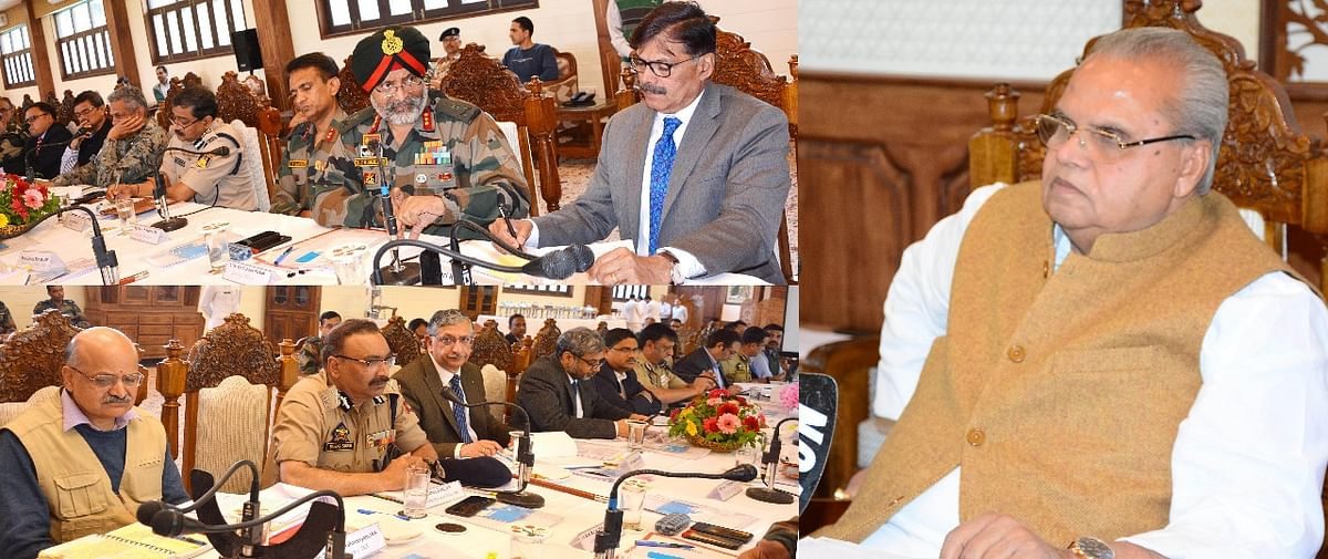 Amarnath Yatra 2019: Governor reviews security arrangements at high level meeting
