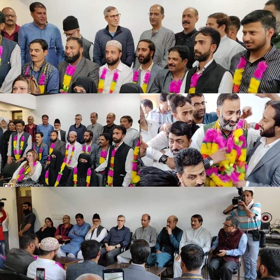 Development of Srinagar marred by government's apathy: Omar Abdullah