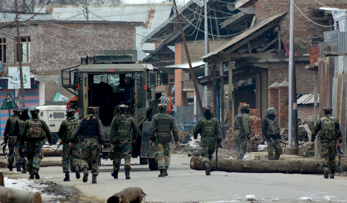 CASO called off in Kokernag after brief shootout