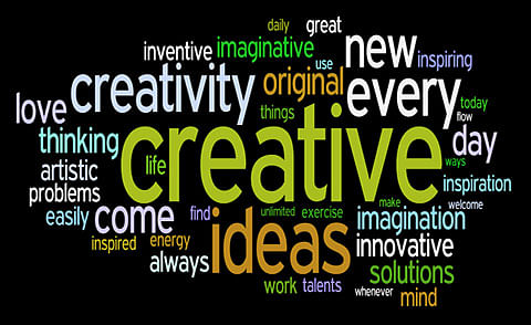 Creativity requires courage