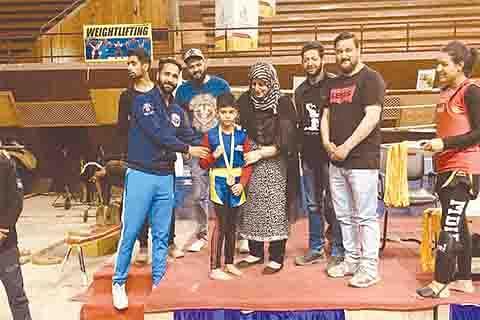 DPS Budgam student wins Wushu gold