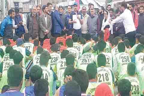 DYSS provincial level road race held